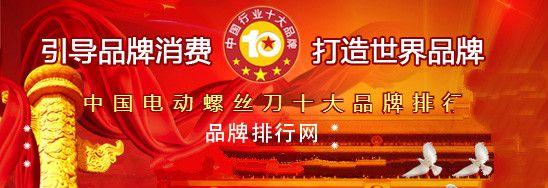 2018年度中国电动螺丝刀十大品牌长乐